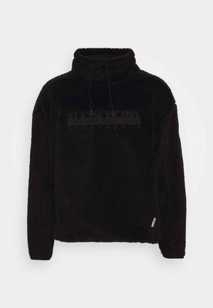 TEIDE - Fleece jumper - black