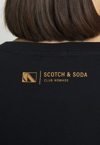 Scotch & Soda - Jednoduché triko - midnight - 4
