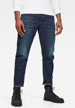 TYPE C NW 3D STRAIGHT TAPERED 2.0 - Jeans Tapered Fit - worn in marine blue