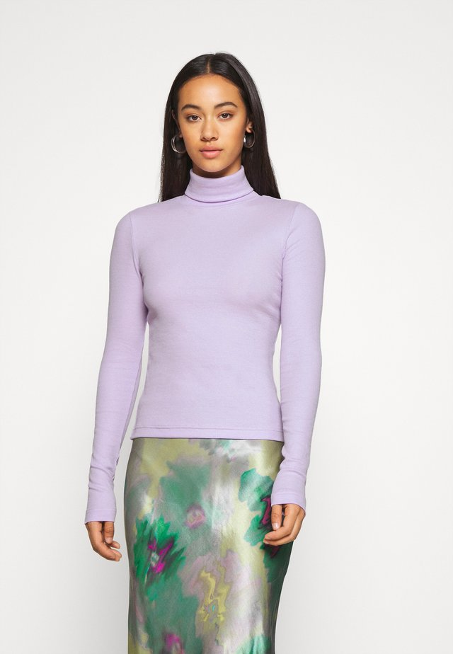 VERENA TURTLENECK - Long sleeved top - lilac