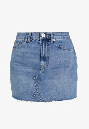 AUSTIN SKIRT - Falda acampanada - blue denim