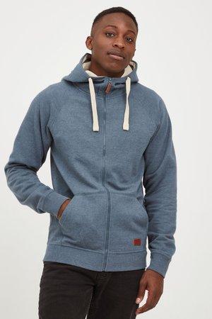SPEEDY - Zip-up sweatshirt - ensign blu