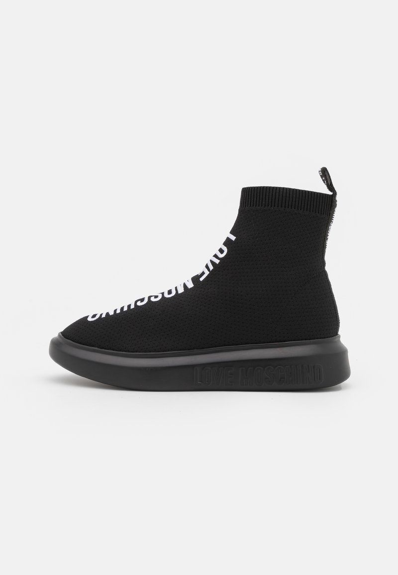 Love Moschino - High-top trainers - fantasy color