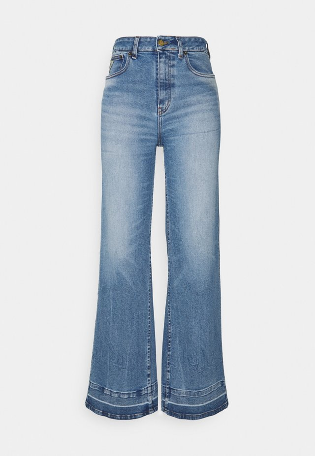 RACHEL - Široké džíny - vintage stone