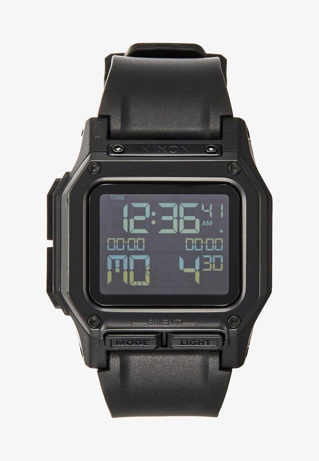 REGULUS - Digital watch - all black