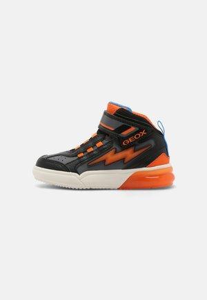 GRAYJAY BOY - Sneakers hoog - black/orange