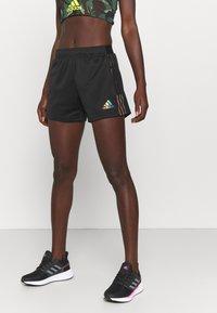 adidas Performance - TIRO PRIDE - Pantalón corto de deporte - black - 0