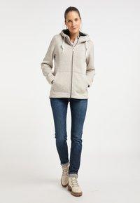 ICEBOUND - Fleece jacket - elfenbein melange - 1