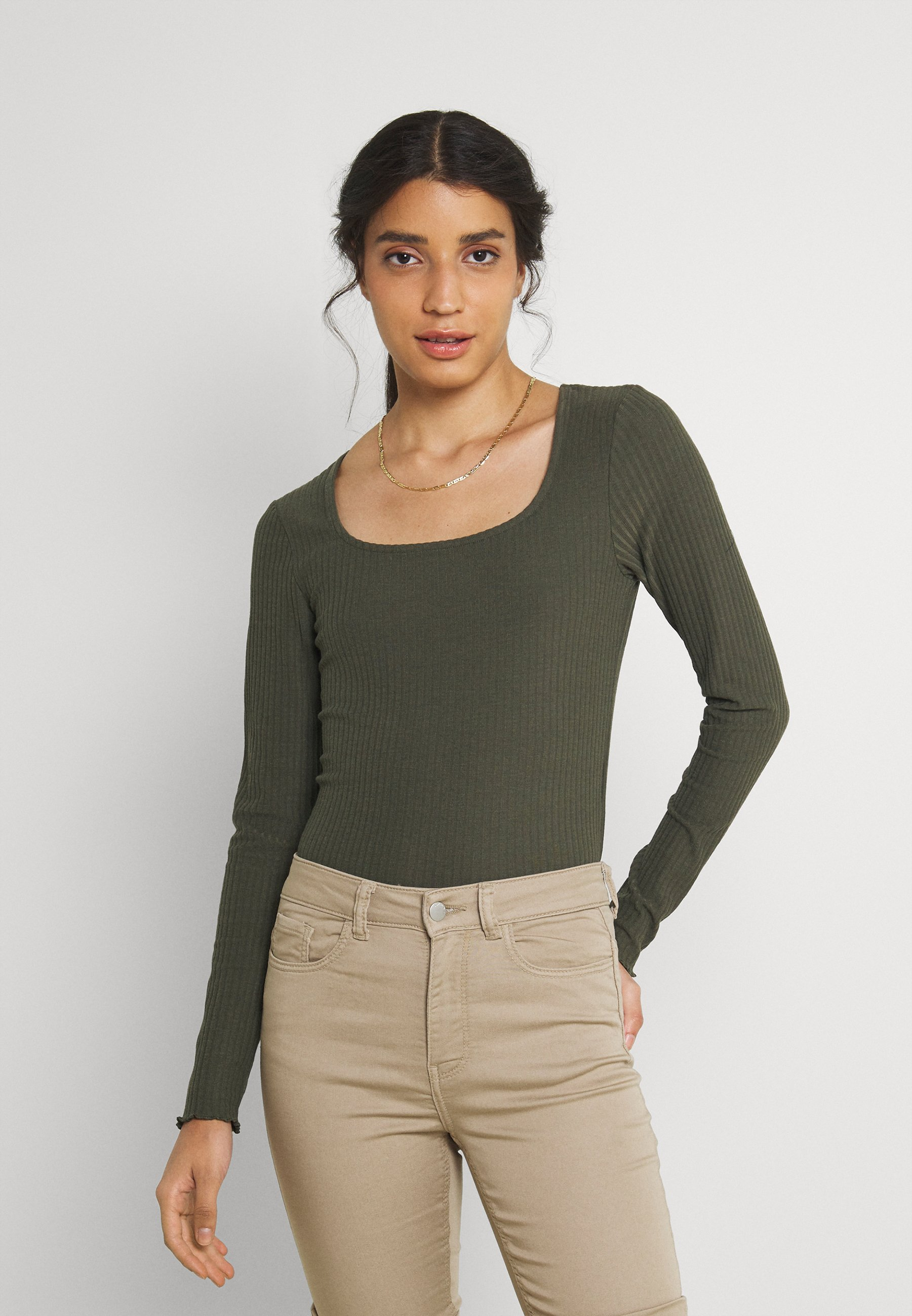 Women ONLNELLA  SQUARE NECK - Long sleeved top