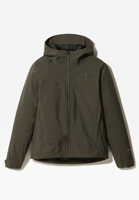 The North Face - W MOUNTAIN LIGHT FL TRICLIMATE JACKET - Kurtka do biegania - new taupe green/tnf black - 2