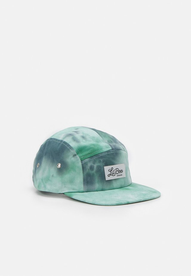 5 PANEL TIE DYE UNISEX - Kšiltovka - green/black