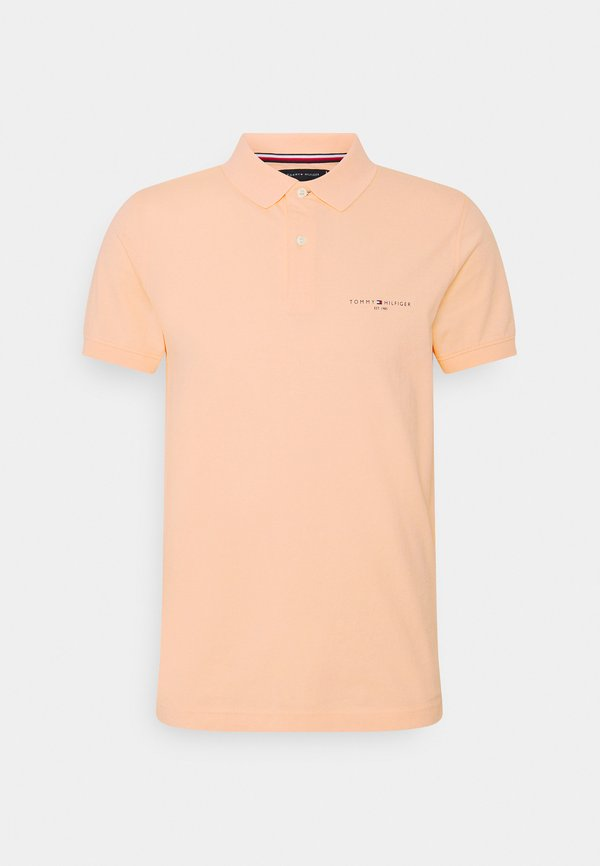 Tommy Hilfiger CLEAN SLIM - Koszulka polo - delicate peach/pomarańczowy Odzież Męska FJFW