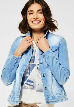 IM COLOUR STYLE - Denim jacket - blau