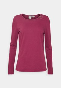 Ragwear - FLORAH LONG  - Long sleeved top - raspberry - 4