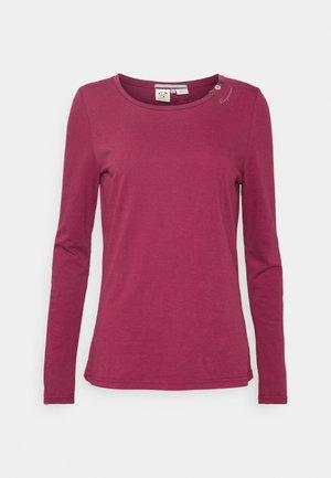 FLORAH LONG  - Long sleeved top - raspberry