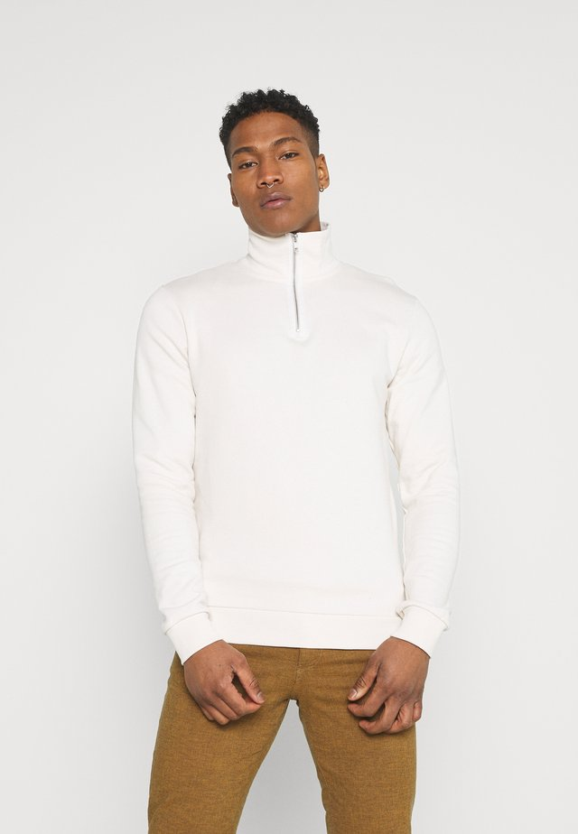 JPRBLATAGOS HIGH NECK - Sweatshirt - egret