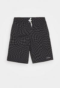 Converse - PRINTED FLEX WAIST PULL ON UNISEX - Shorts - black - 0