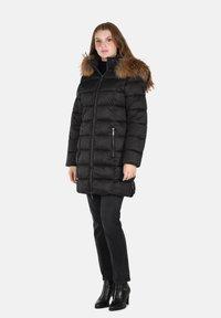 Cero & Etage - Winter coat - charcoal melange - 1