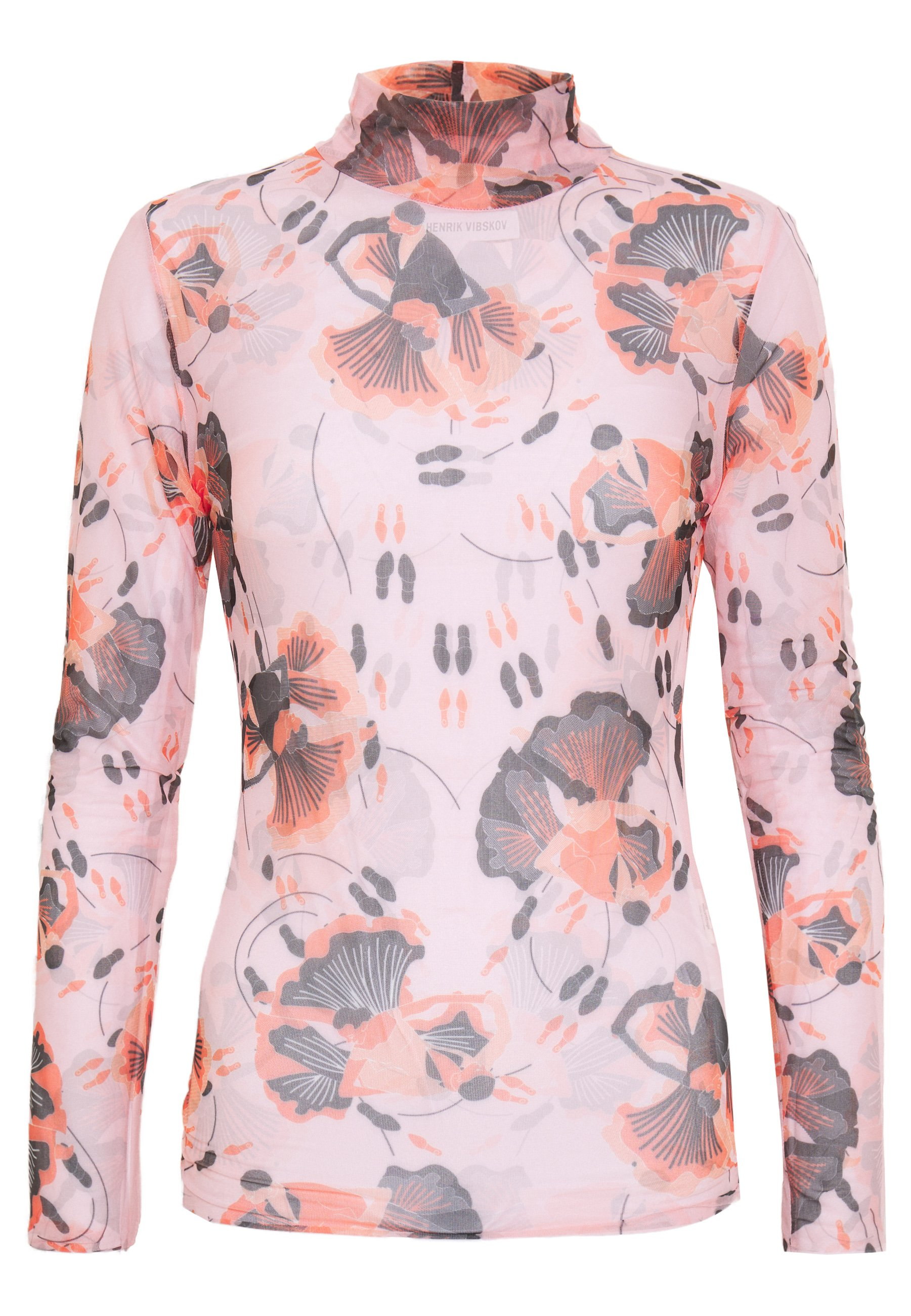 Henrik Vibskov WALTZ - Long sleeved top - pink