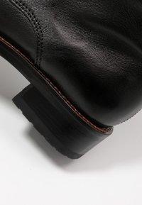 MJUS - Cowboy/biker ankle boot - nero - 2