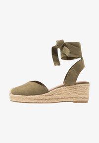 Tamaris - Platform sandals - khaki - 1