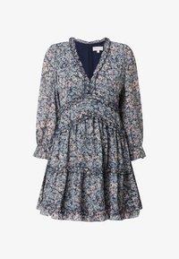 APRICOT - MINI MIT FLORALEM MUSTER - Jersey dress - helltürkis - 3