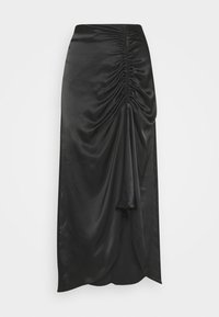 Second Female - MIDI SKIRT - Áčková sukně - black - 3