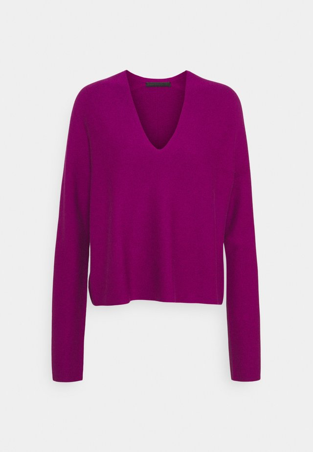LINNIE - Strickpullover - purple