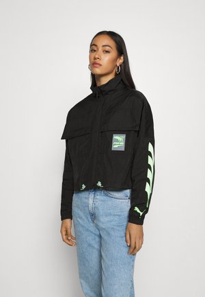 EVIDE TRACK JACKET  - Trainingsjacke - black