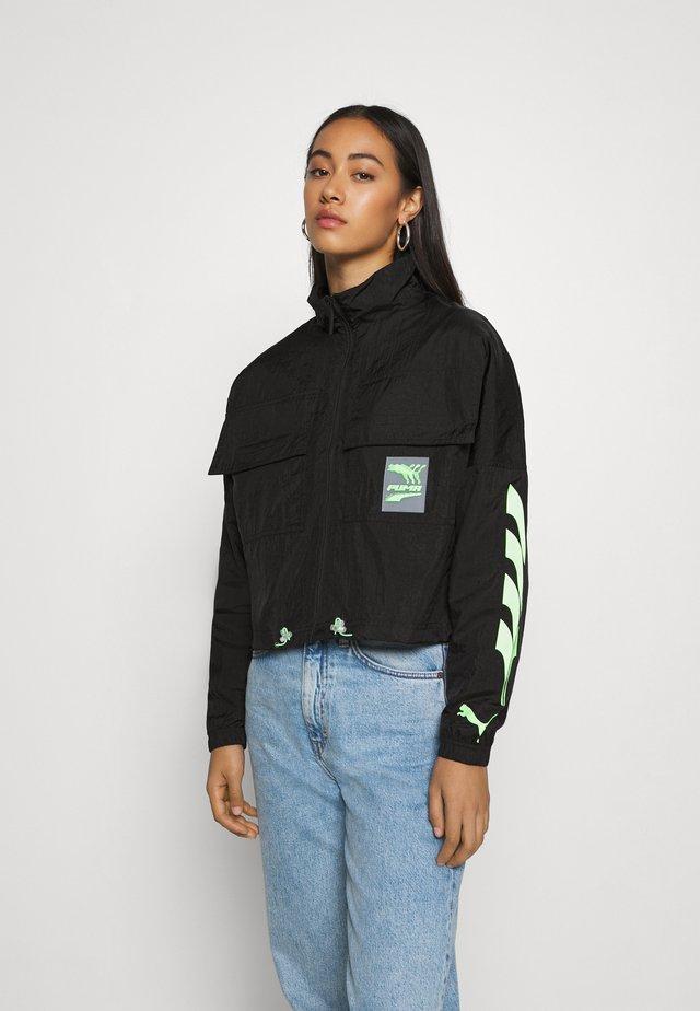 EVIDE TRACK JACKET  - Training jacket - black