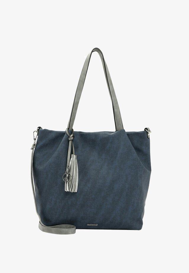 ELKE - Shopping bag - blue