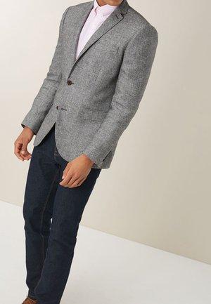 TEXTURED BLEND - Blazer jacket - grey