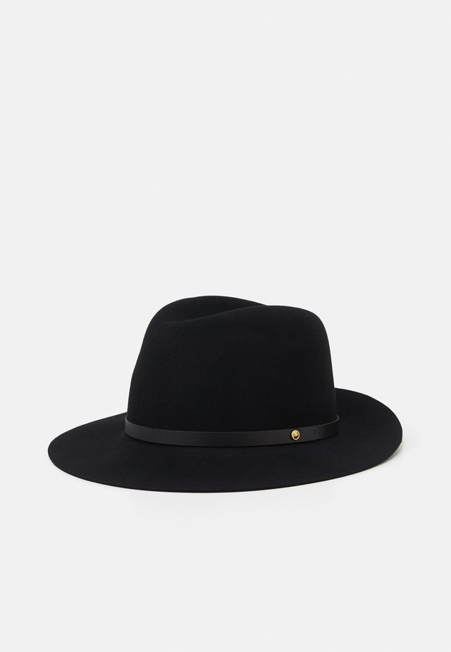 FLOPPY BRIM FEDORA - Cappello - black