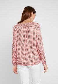 comma casual identity - BLOUSE LONGSLEEVE - Blouse - red - 2