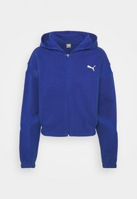 Puma - PAMELA REIF X PUMA FULL ZIP HOODIE - Zip-up sweatshirt - mazerine blue - 5