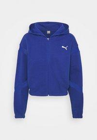 PAMELA REIF X PUMA FULL ZIP HOODIE - Zip-up sweatshirt - mazerine blue