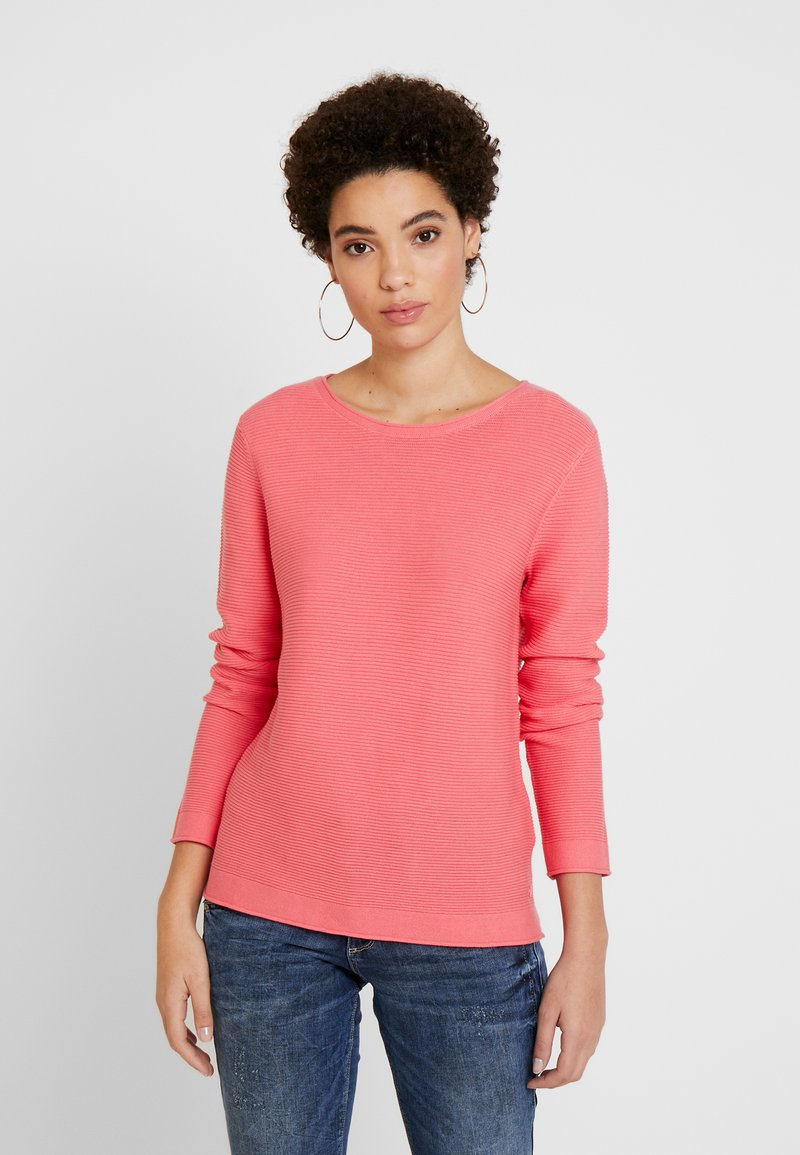 TOM TAILOR - SWEATER NEW OTTOMAN - Jumper - charming pink