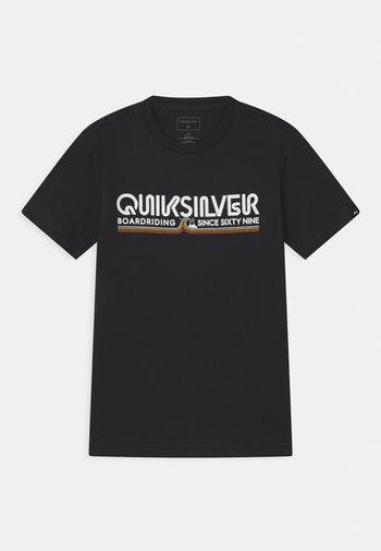 LIKE GOLD - Print T-shirt - black