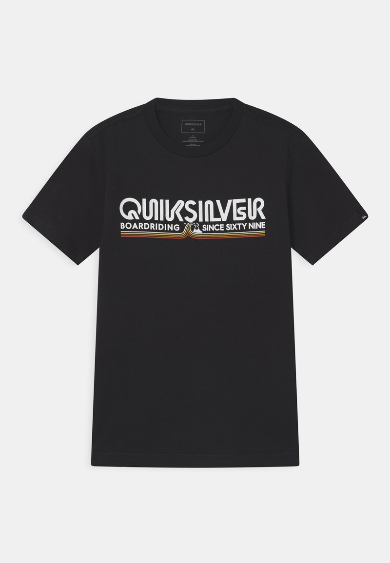 Quiksilver - LIKE GOLD - T-shirt con stampa - black