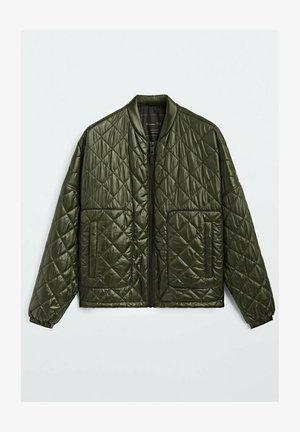 GESTEPPTE - Light jacket - green