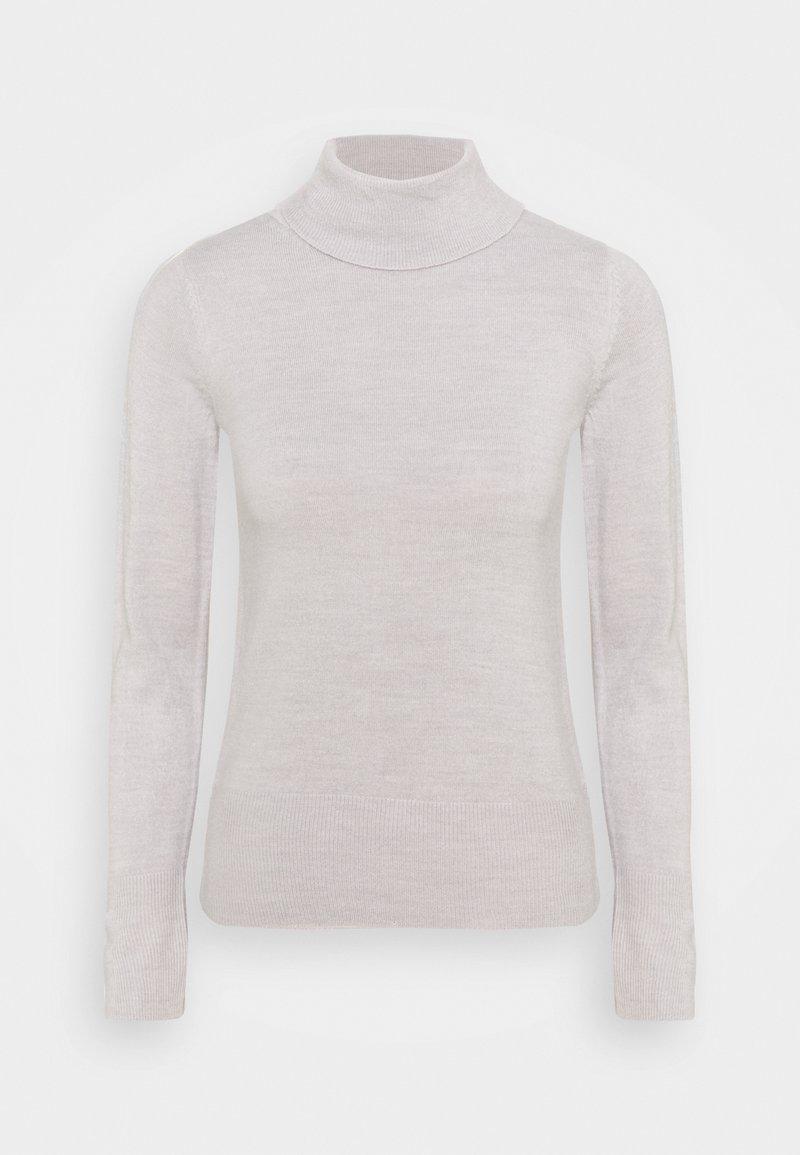 Marks & Spencer London - ROLL - Stickad tröja - grey