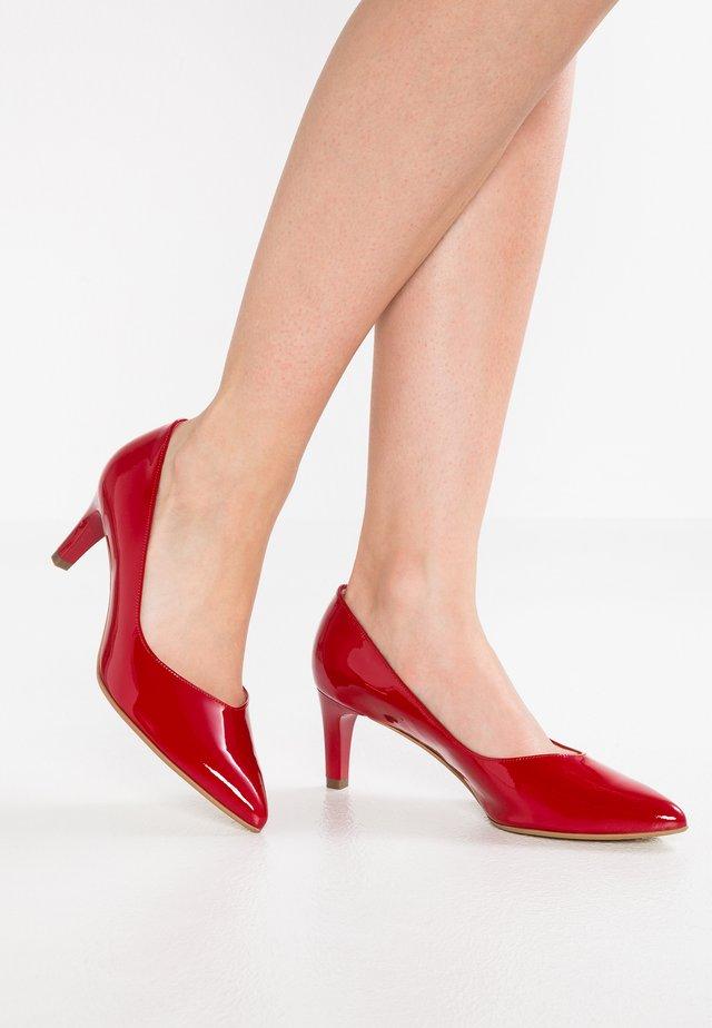 NURA - Classic heels - rot