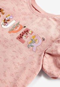 Next - APPLIQUÉ SLOGAN - Print T-shirt - pink - 2