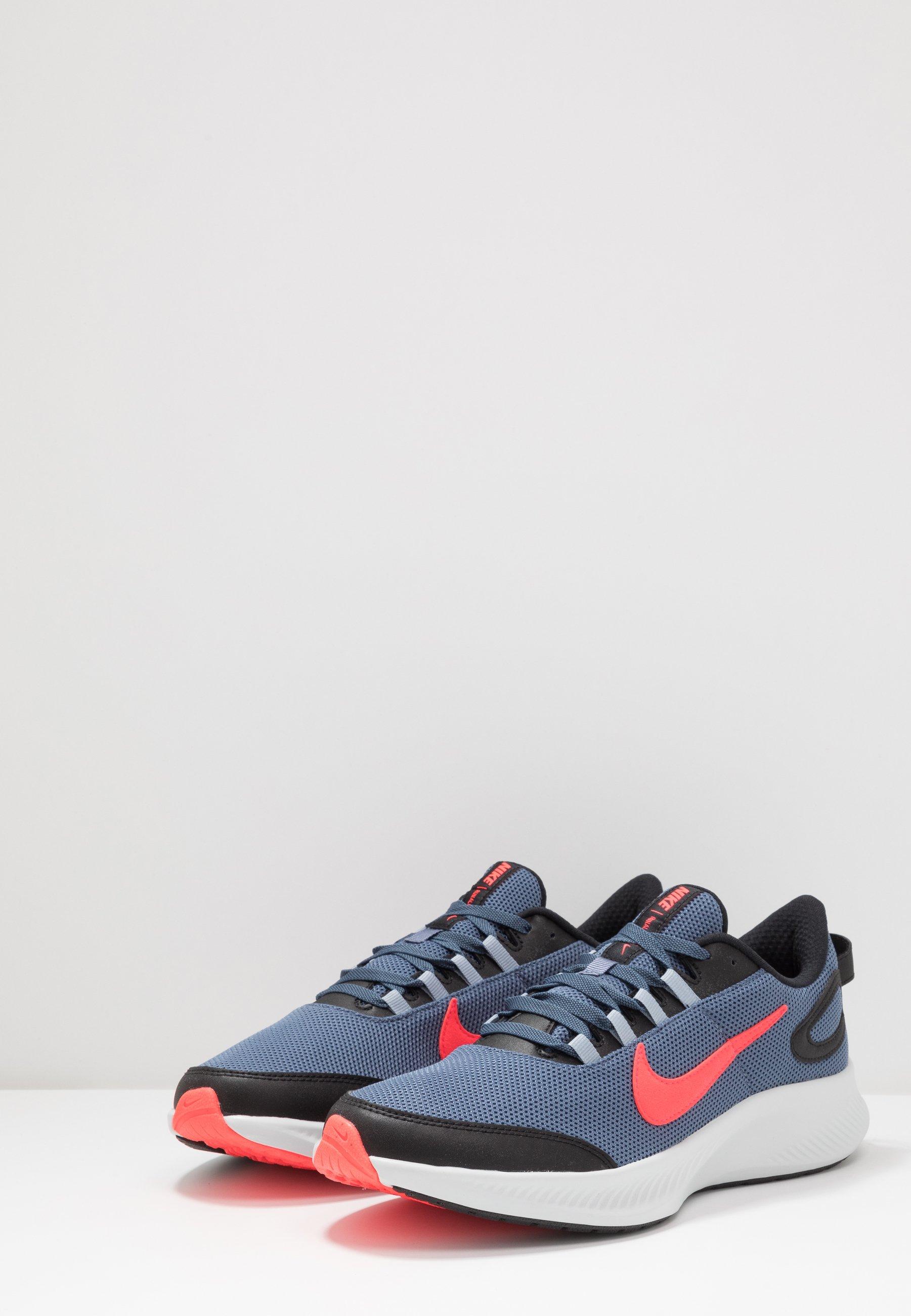 Nike Performance Runallday 2 - Neutrale Løbesko Diffused Blue/laser Crimson/black