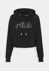 Fila - JANA CROPPED HOODY - Sweater - black - 0