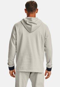Under Armour - Zip-up hoodie - summit white - 2