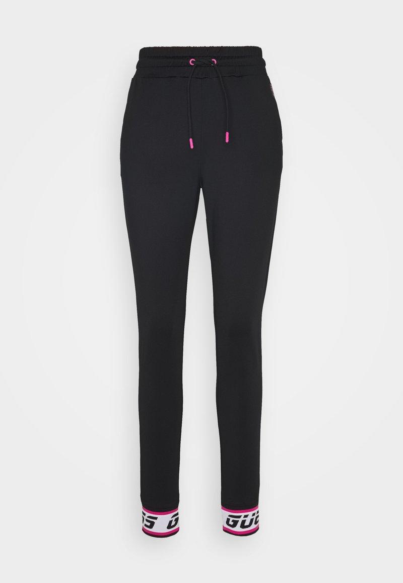 Guess - LONG - Spodnie treningowe - jet black