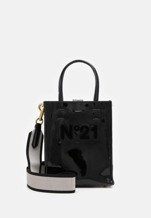 MICRO SHOPPING VERTCALE - Handtasche - black