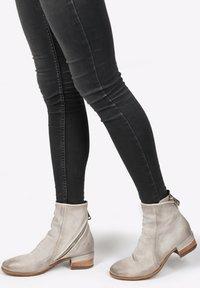A.S.98 - Cowboy/biker ankle boot - grigio - 1