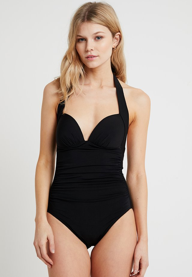 GATHERED - Maillot de bain - black